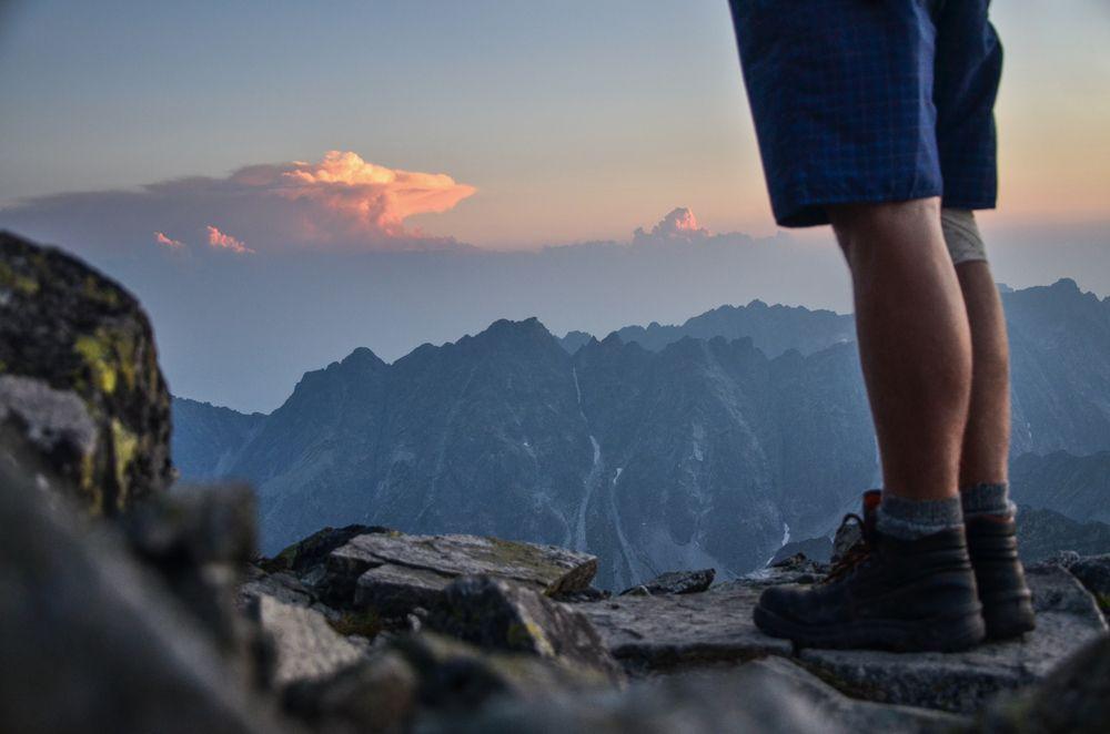 Trekking in montagna