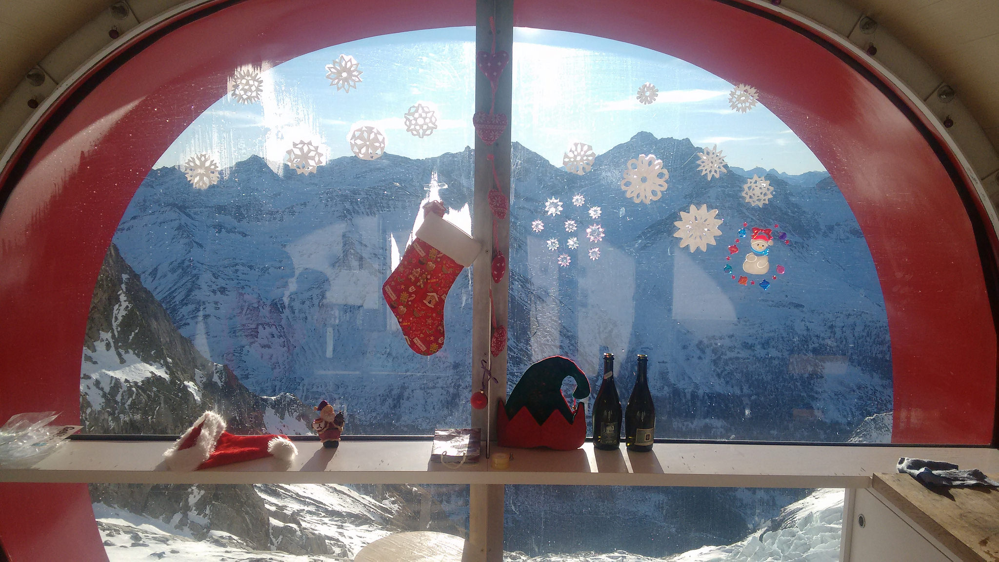 Bivacco Gervasutti, Natale