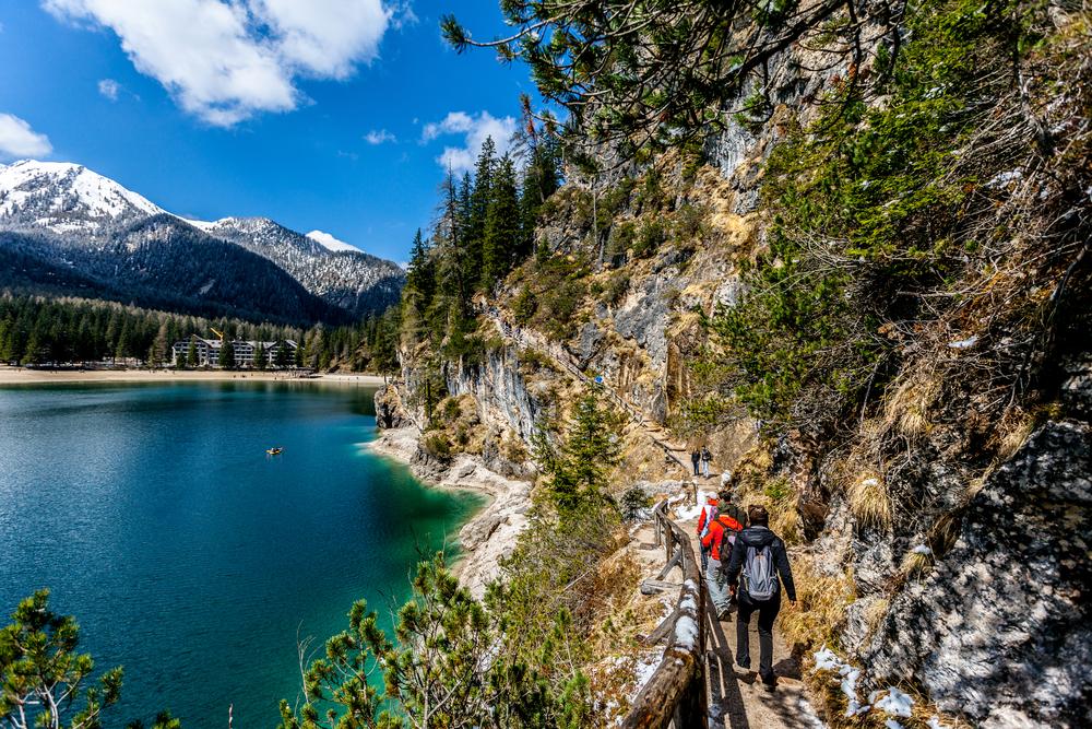 Hiking Lago di Braies