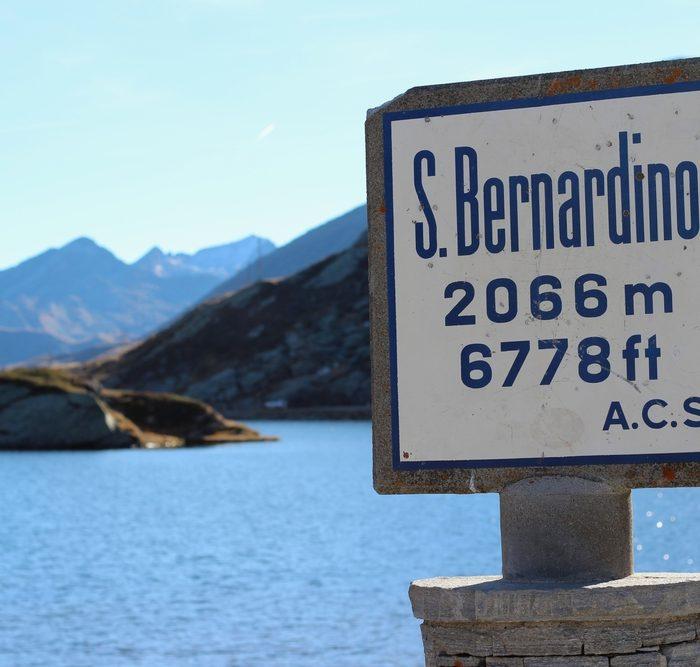 Passo San Bernardino, Svizzera