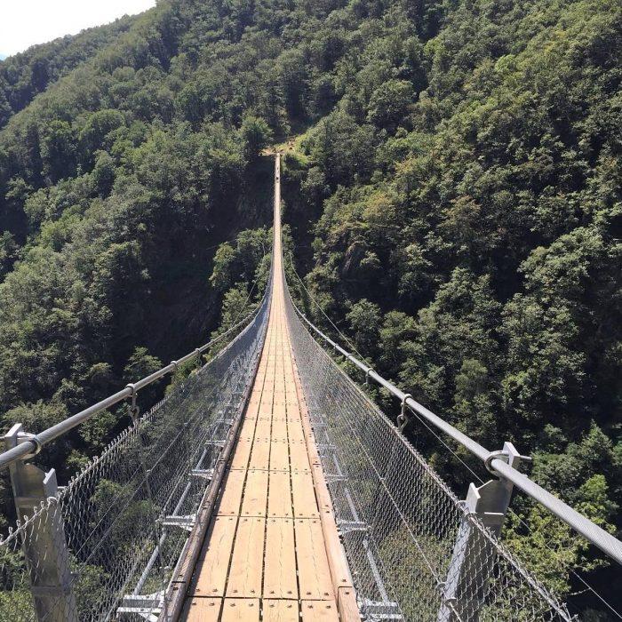 Ponte Tibetano Svizzera