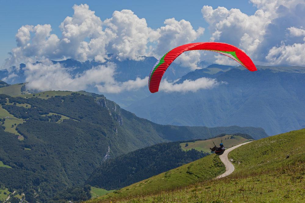 Monte Baldo parapendio