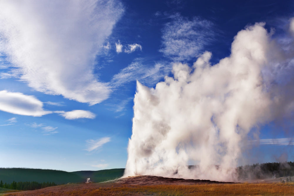 Yellowstone National Park, geyser