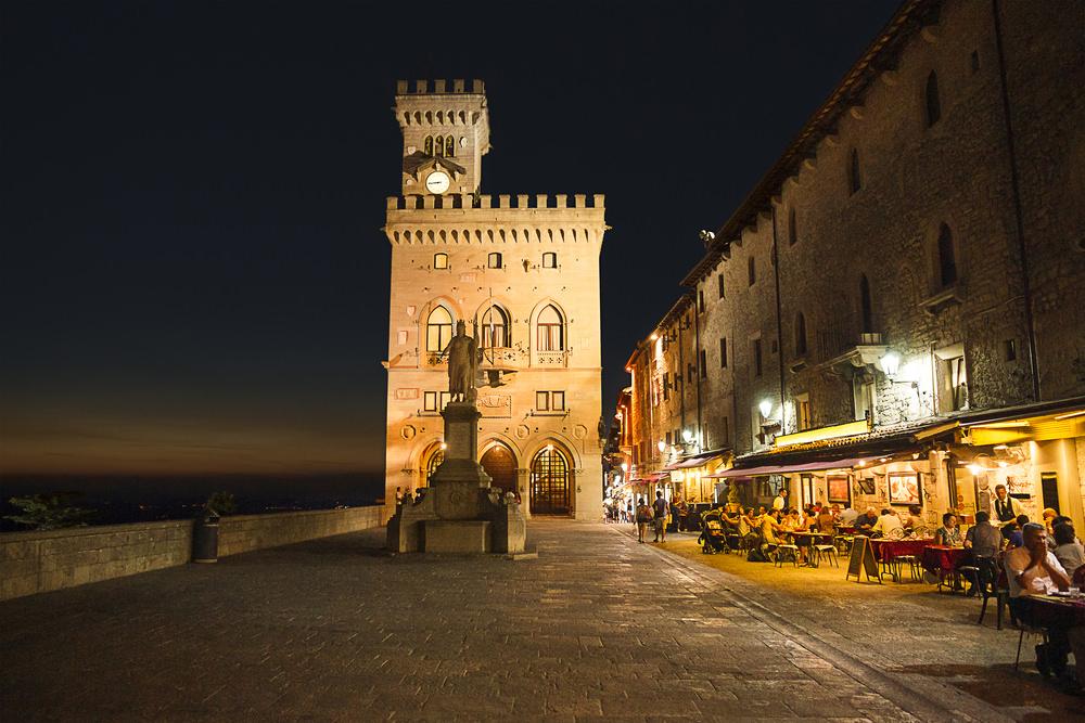 San Marino, centro storico