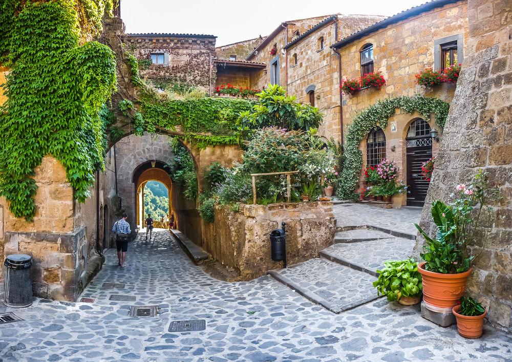 Civita di Bagnoregio, borgo