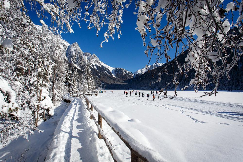 Anterselva, inverno