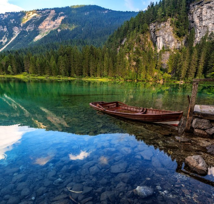 Lago Tovel in Trentino