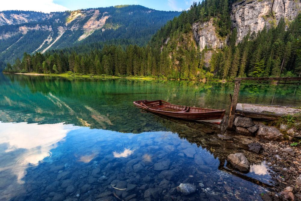 Lago Tovel in Trentino