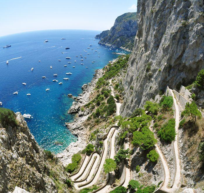 Capri, Via Krupp