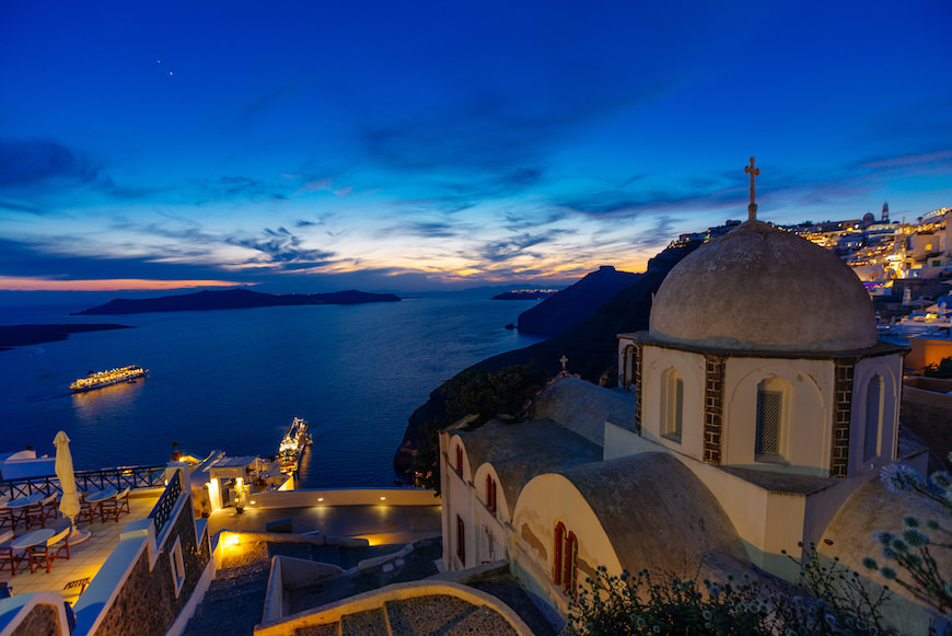 santorini turismo sostenibile