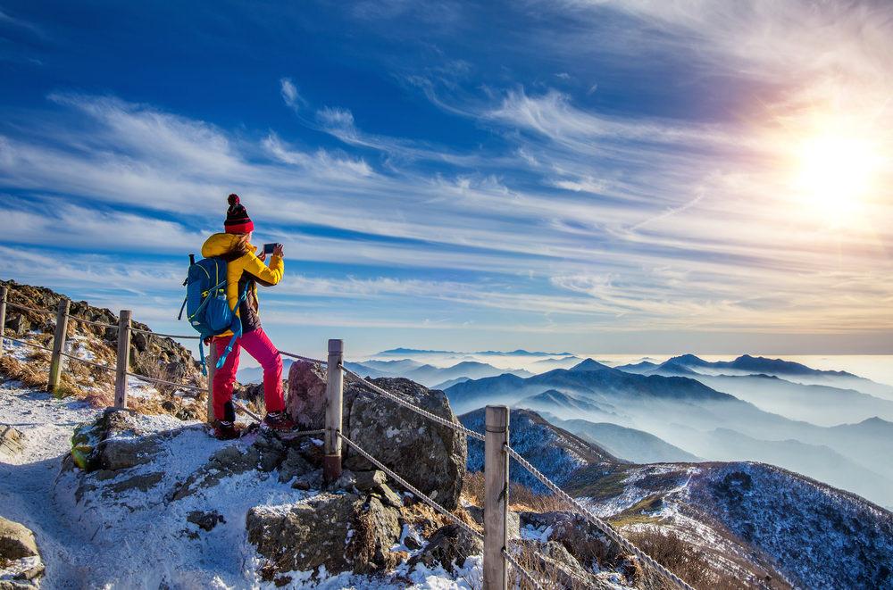Abbigliamento da trekking in inverno
