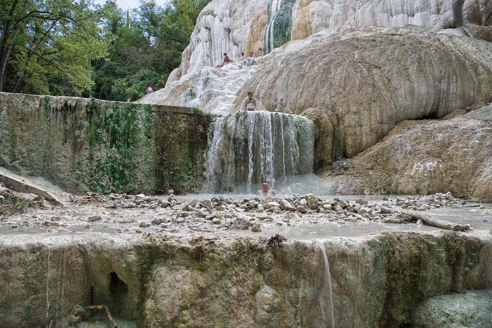 Bagni San Filippo, terme in Toscana