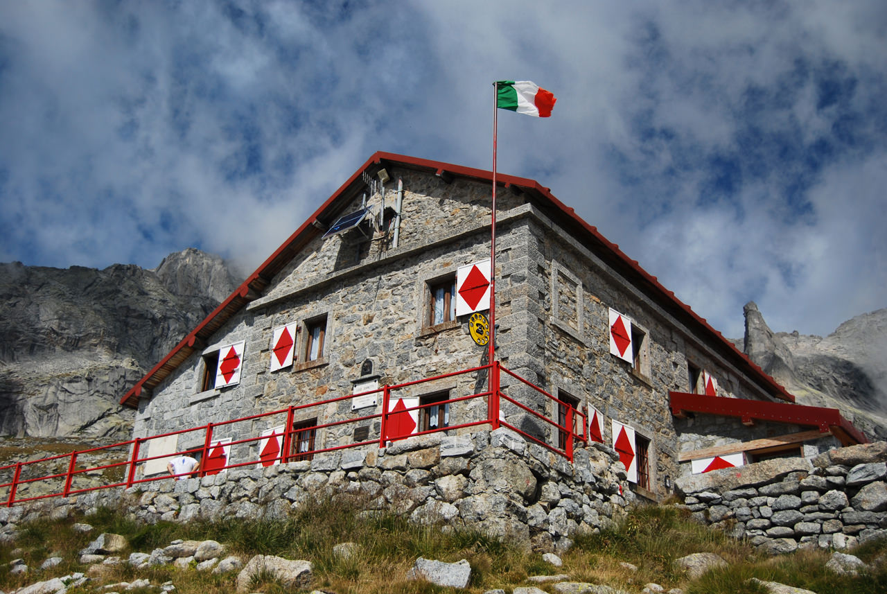 Rifugio Luigi Gianetti, Val Porcellizzo
