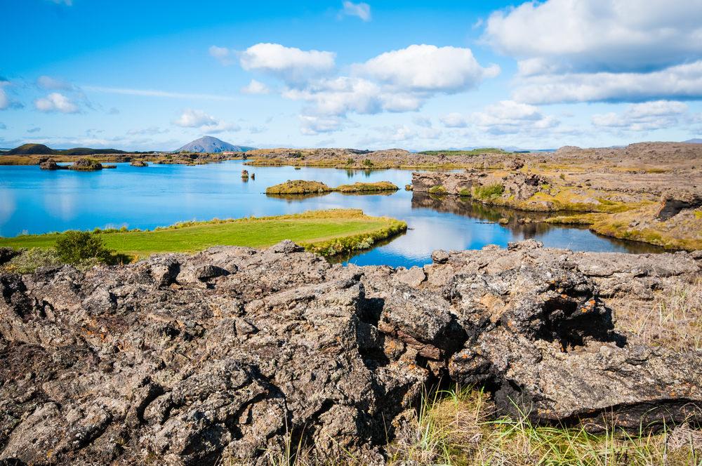 Lago Myvatn Islanda