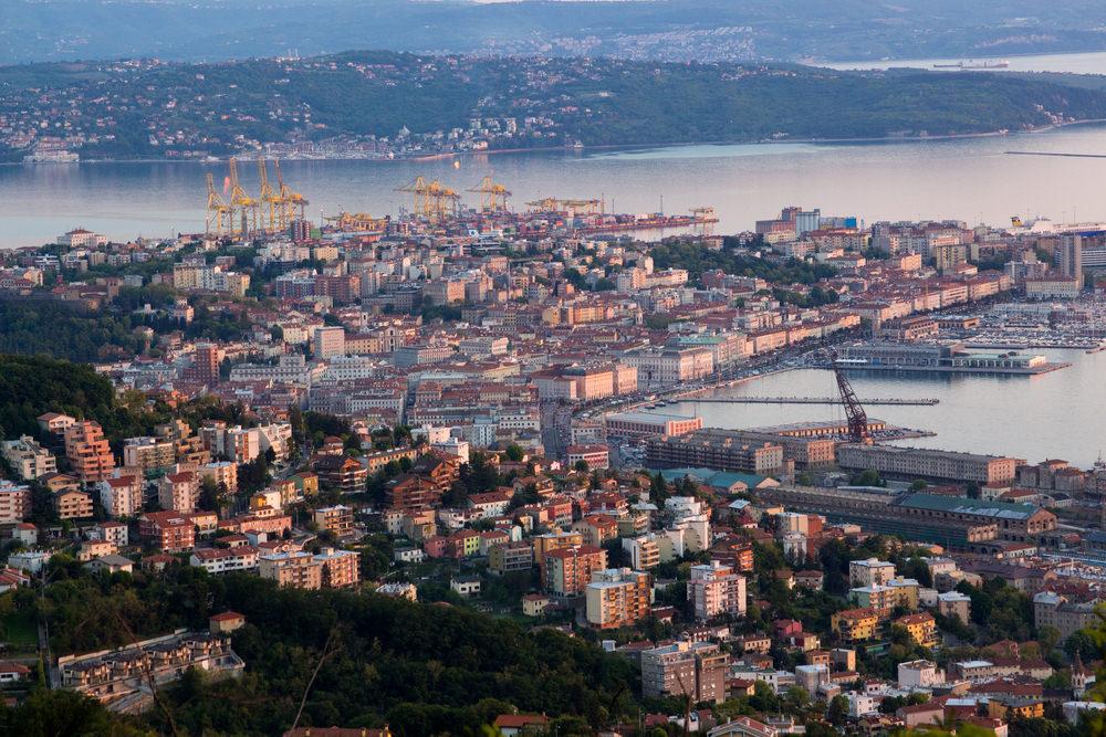 Strada Napoleonica panorama Trieste