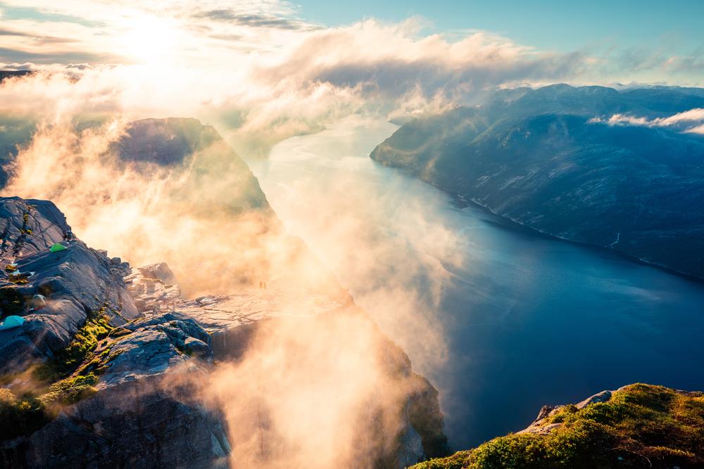 Preikestolen, sulla terrazza della Norvegia