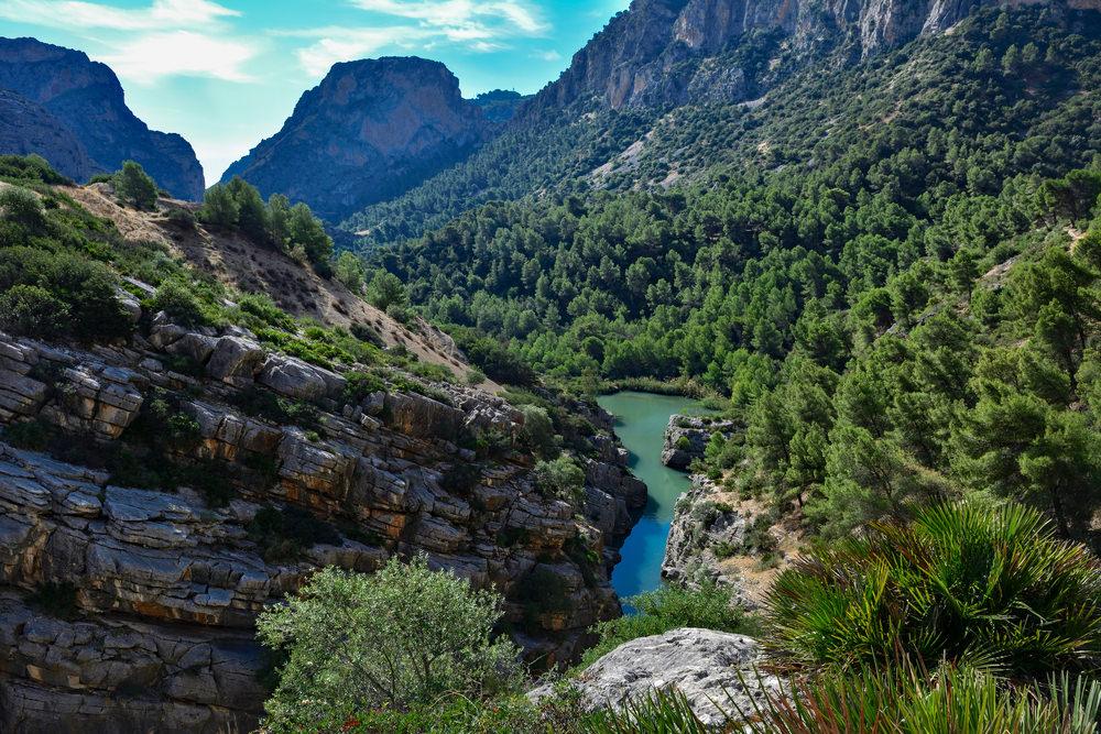 Caminito del Rey, trekking in Spagna