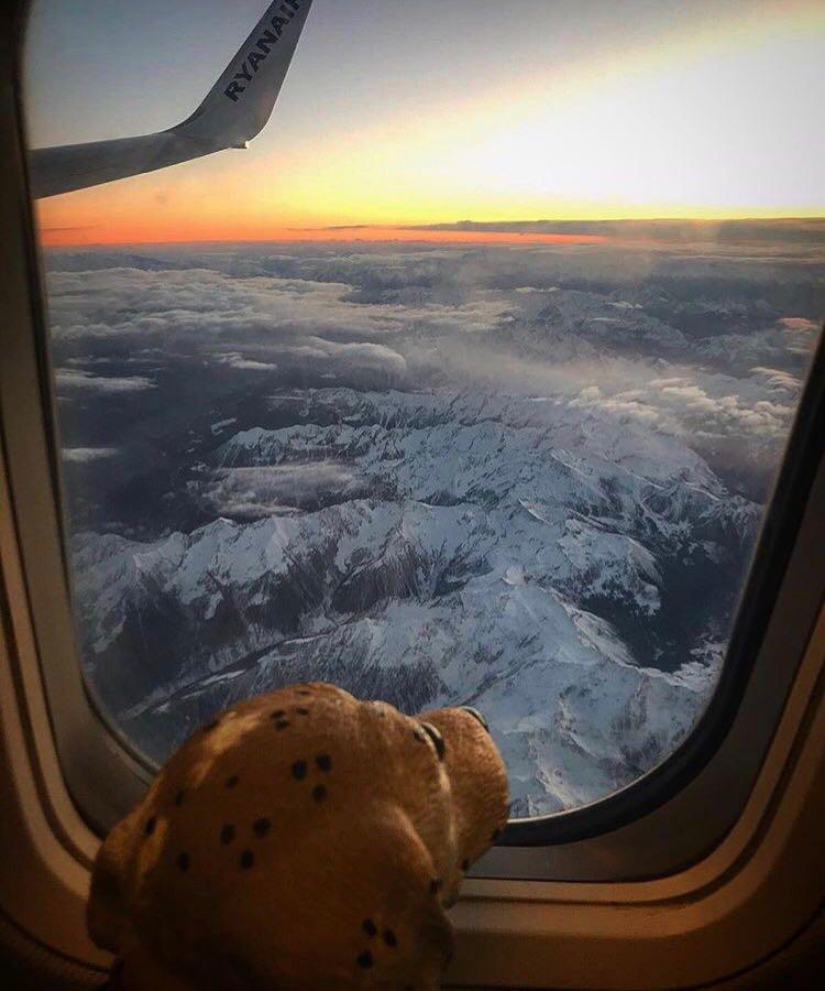 Modu – sorvolando le Alpi. In Viaggio verso il Lussemburgo