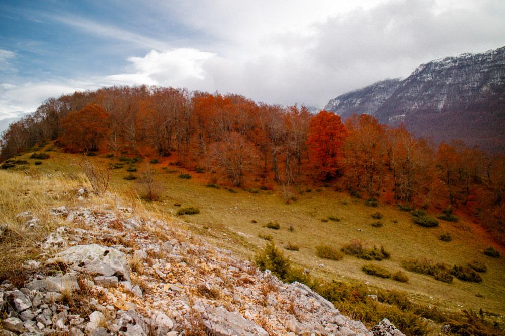 Trekking Abruzzo Monte Velino, Piani di Pezza