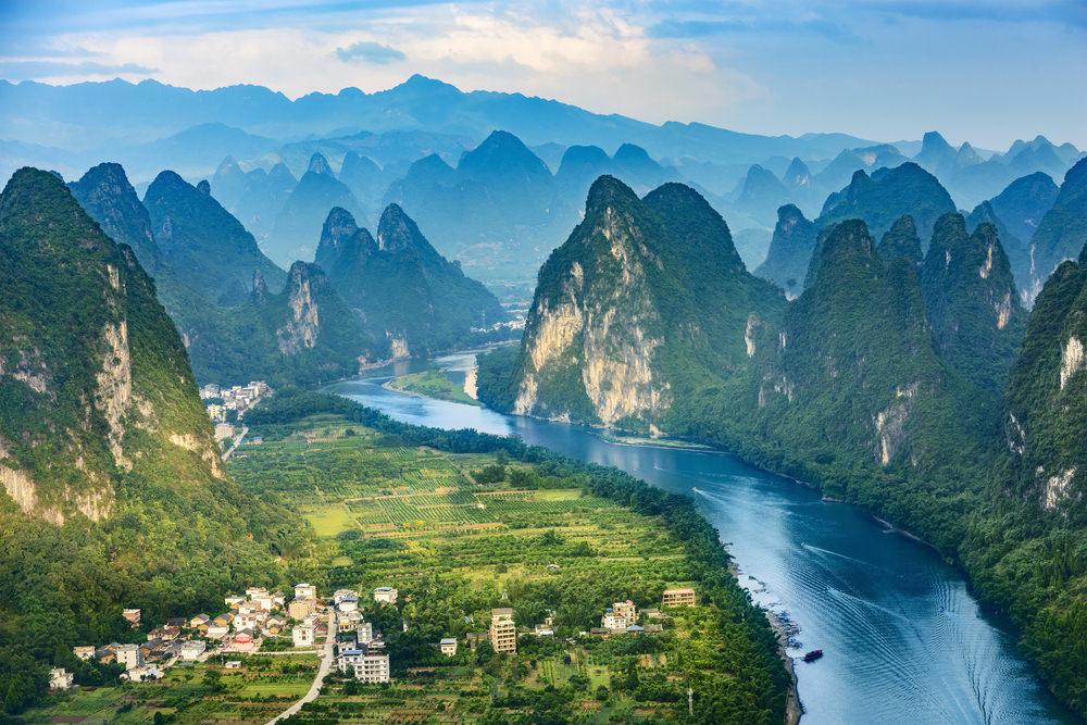 Fiume Li, Guilin, Cina