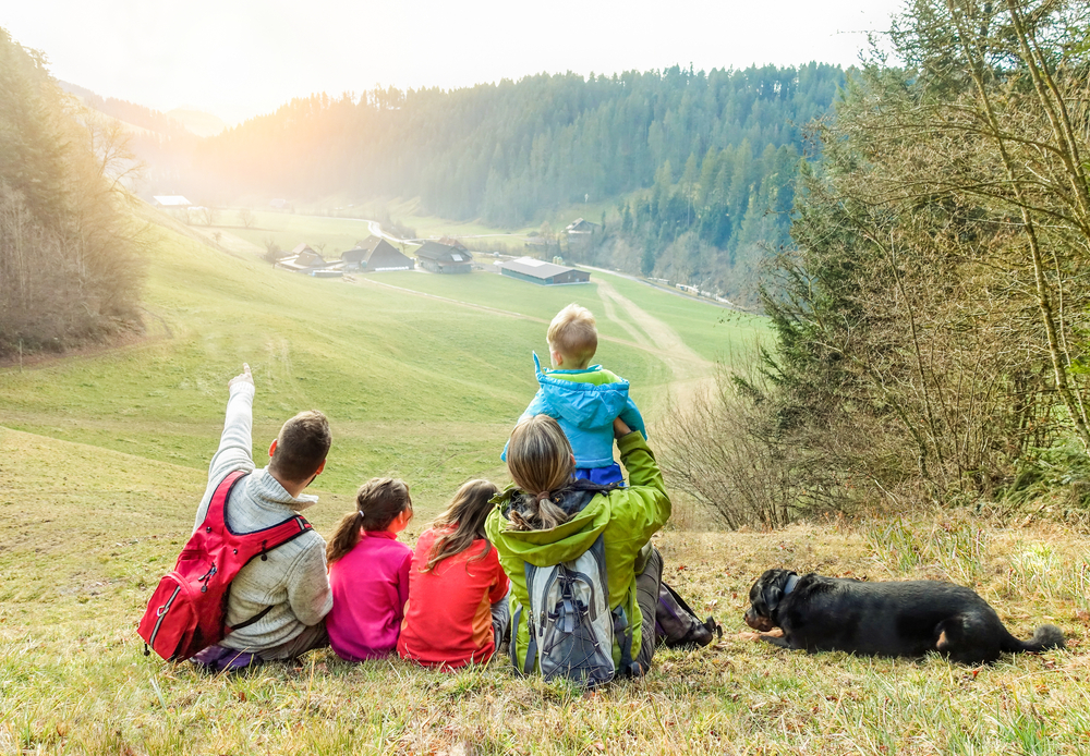 Bambini e trekking