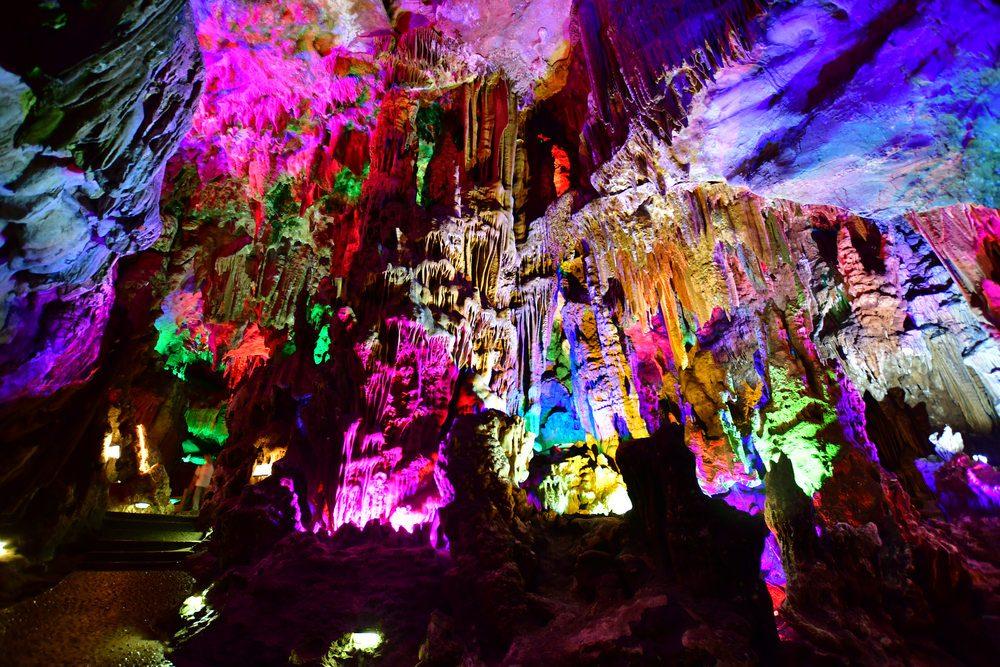 Grotta Flauto Canne, Cina