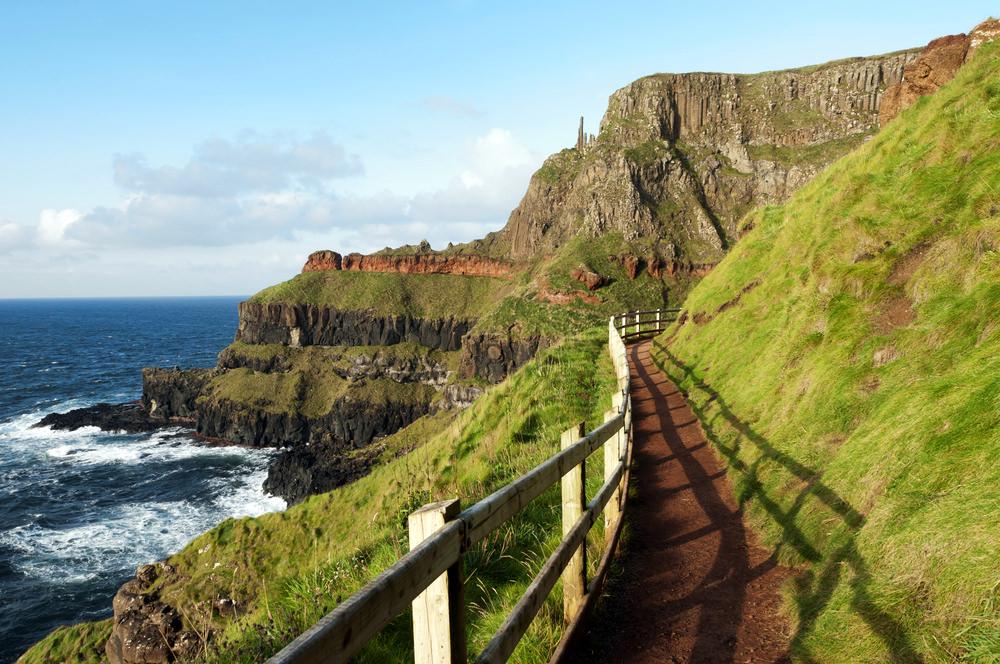 Giant's Causeway, trekking Irlanda