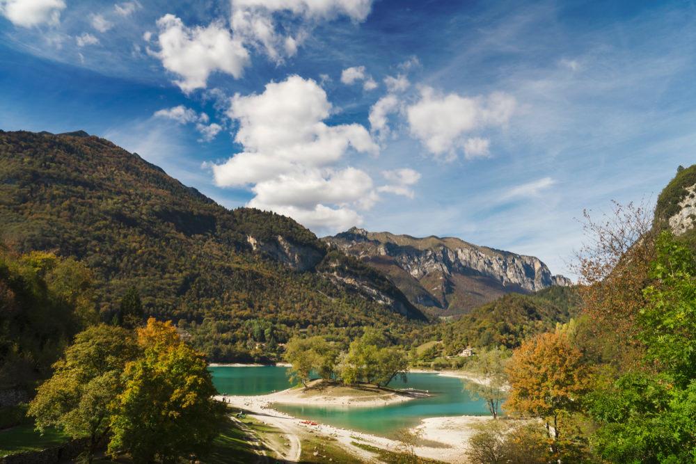 Cascate Varone, Lago di Tenno