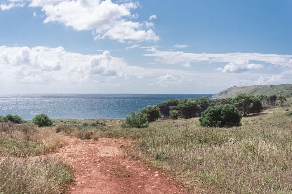 Cava di bauxite di Otranto - Mare