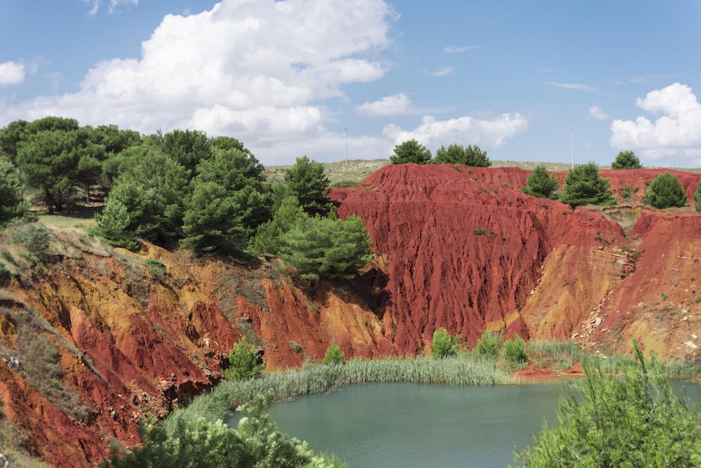 Cava di bauxite di Otranto - Laghetto