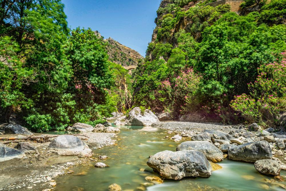 Gole del Raganello - Percorsi e acque