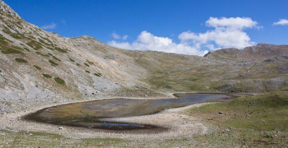 Cammino dei briganti, Lago della Duchessa