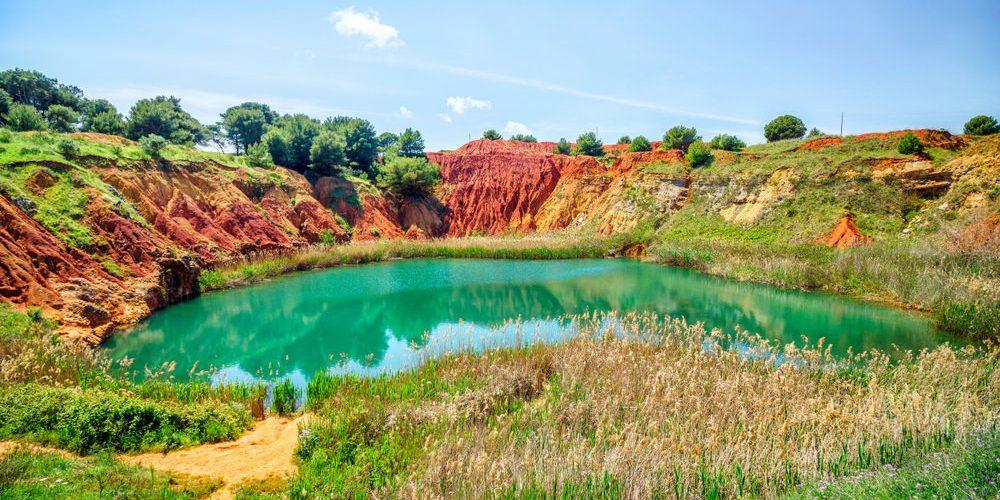 Cava di bauxite di Otranto