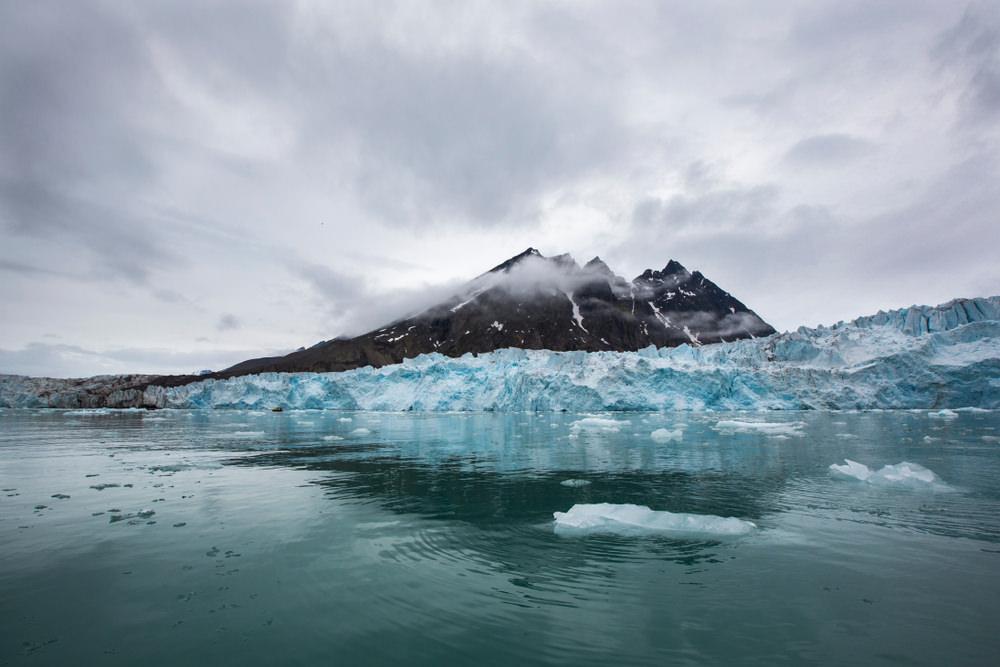 Monaco Glacier, Isole Svalbard