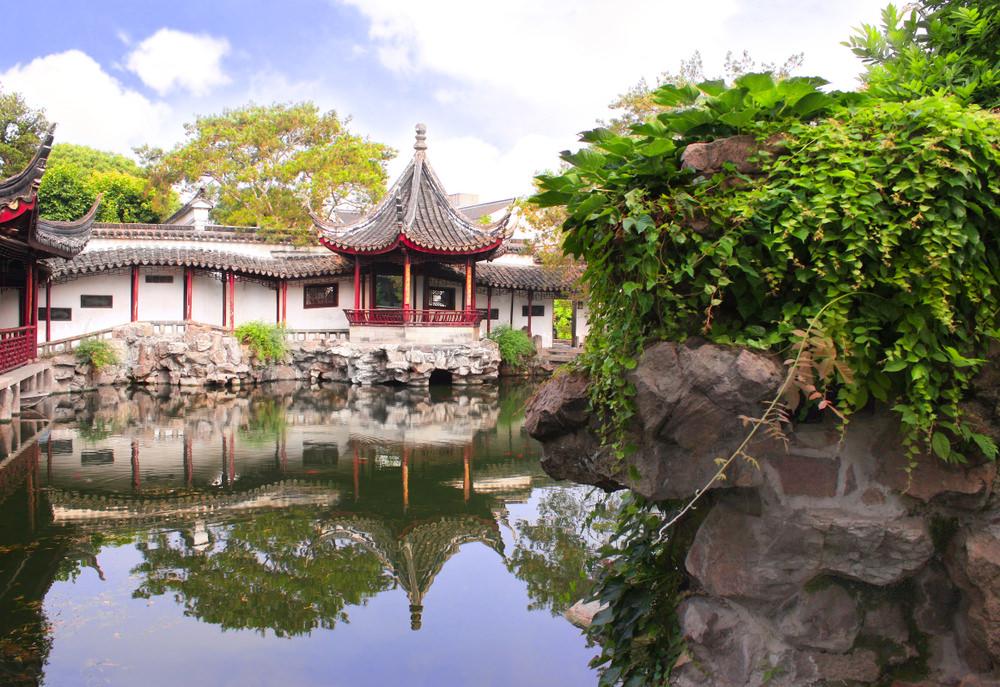 Pescatore, Giardini classici di Suzhou