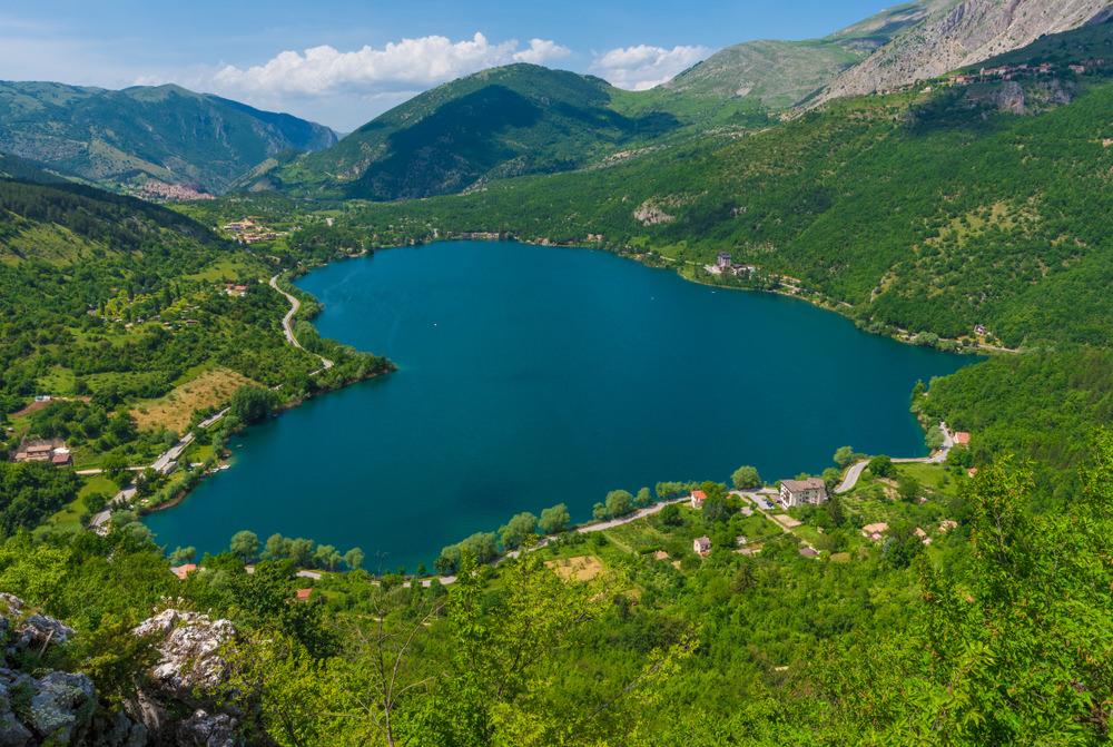 Monte Miglio, Lago di Scanno