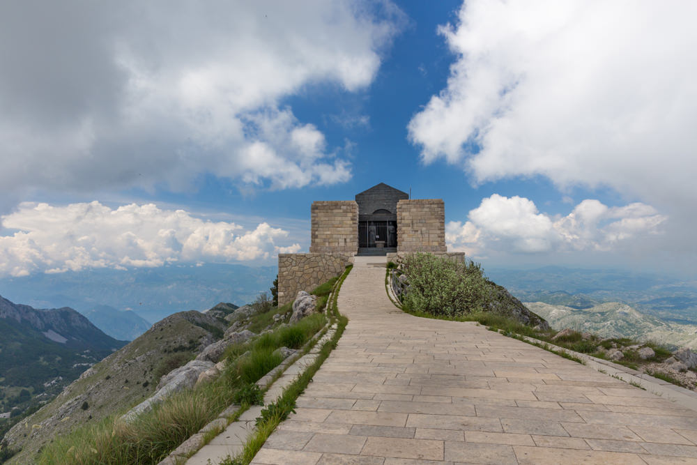 Monte Lovćen, mausoleo