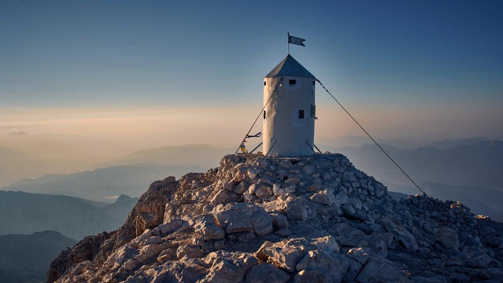 Monte Tricorno vetta