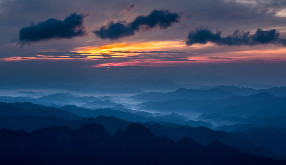 Monte Sanqing, alba