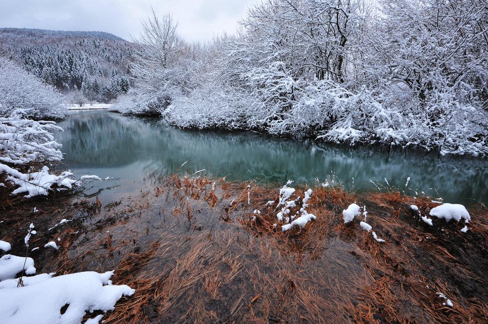 Lago di Circonio, inverno