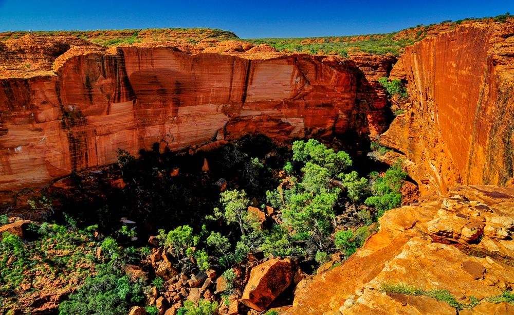Ayers Rock, Kings' Canyon