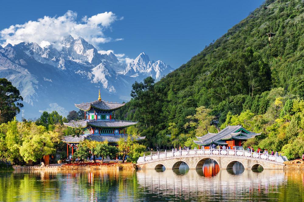Area dei tre fiumi paralleli, Lijiang