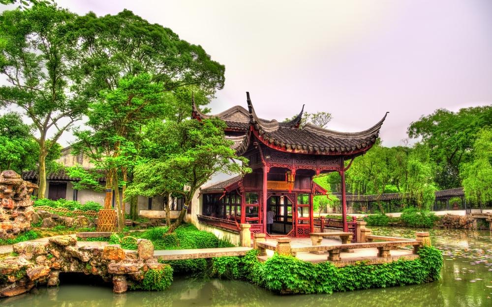 Giardini classici di Suzhou, umile amministratore