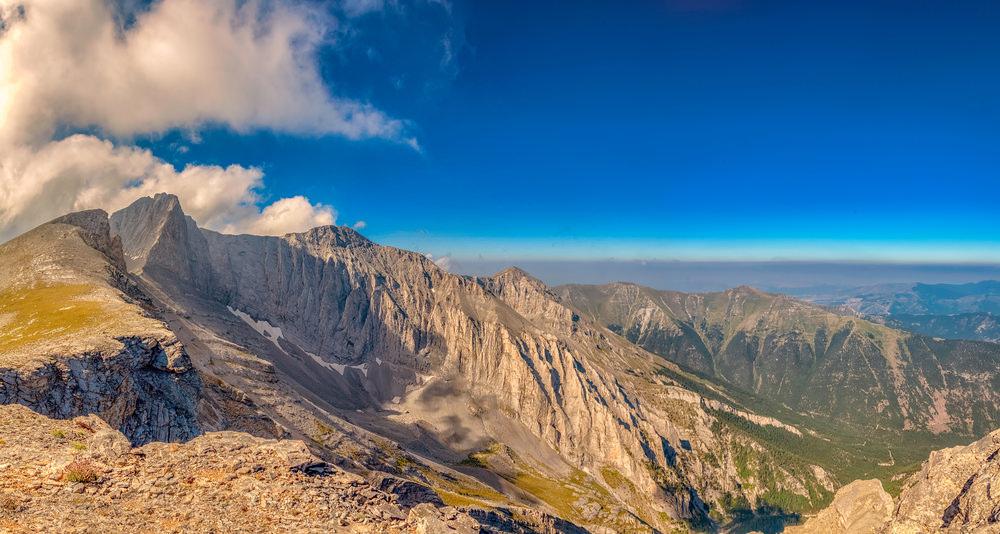 Monte Olimpo panorama