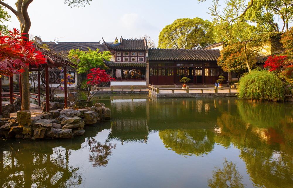 Liuyuan, Giardini classici di Suzhou