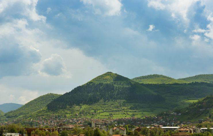Piramidi bosniache, Visoko