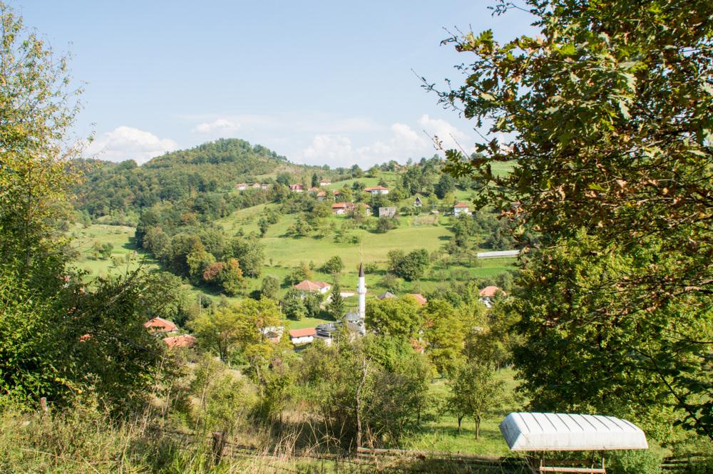 Piramidi bosniache percorso