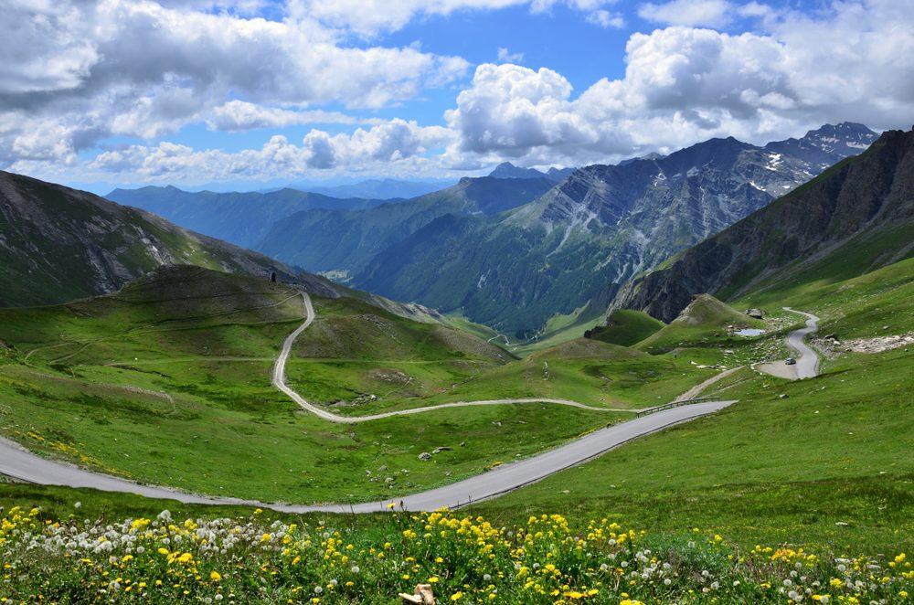 Colle dell'Agnello, trekking Alpi