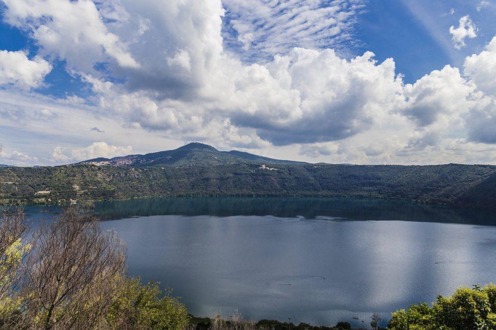 Via Francigena da Roma: Castel Gandolfo e Lago Albano