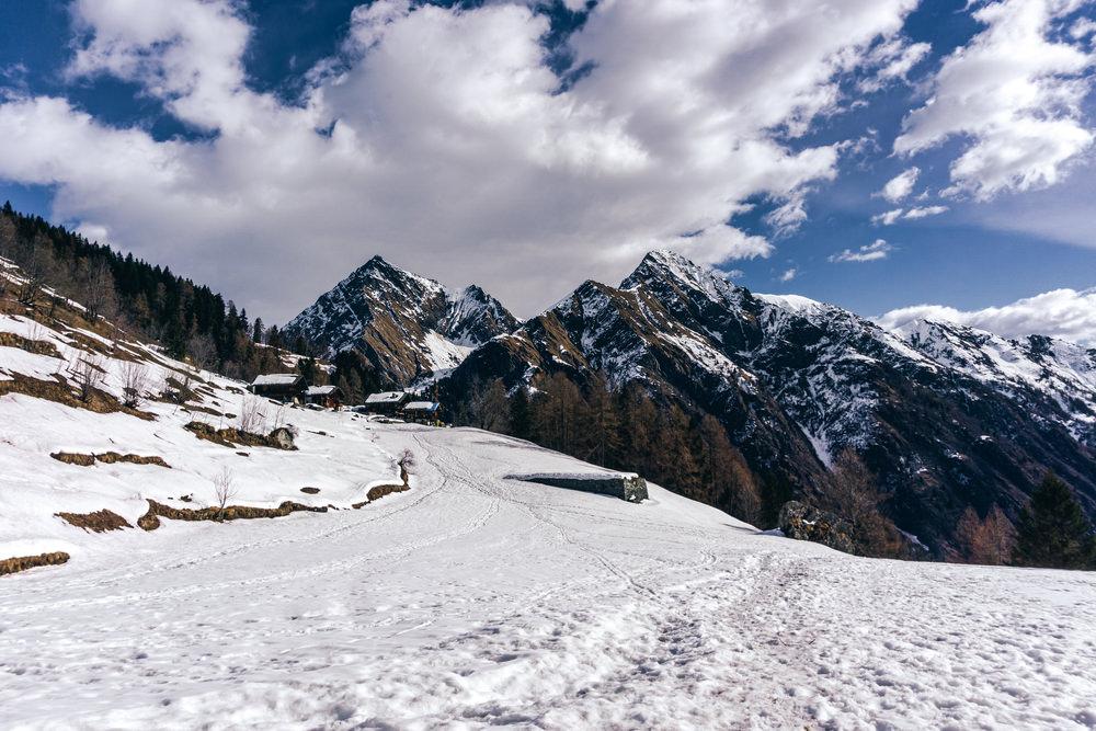 Val d'Otro, Ciaspole Piemonte